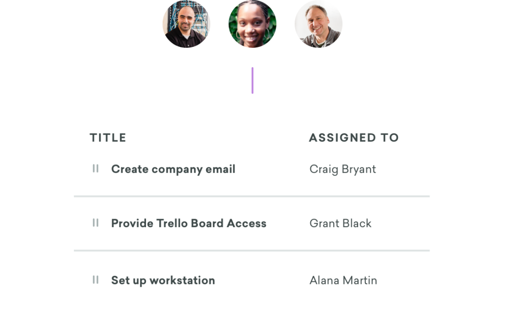 Organize your hiring and onboarding team