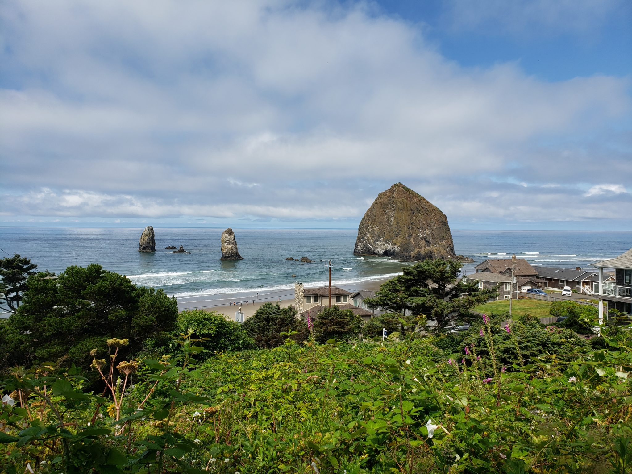 photograph of cannon beach by employee of Kin HR software